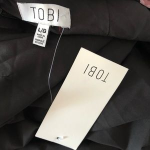 Tobi Dresses - Tobi backless floral dress NWT